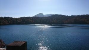 六観音池と韓国岳